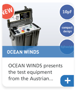 OCEAN WINDS presents the test equipment from the Austrian manufacturer b2Hig Voltage