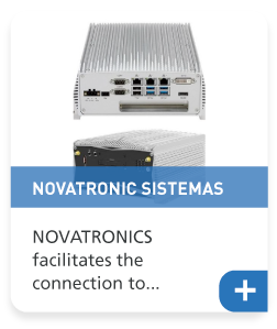 NOVATRONICS facilitates the connection to a complex deterministic network