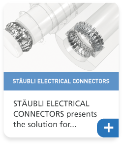 STÄUBLI ELECTRICAL CONNECTORS presents the solution for the high current contacts of the future