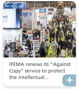 IFEMA renews its 'Against Copy' service to protect the intellectual...